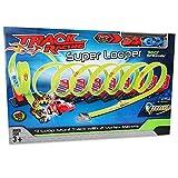 Looping-Rennbahn »Super Looper« 6 Meter mit 2 Autos Spielbahn Rennbahn Loopingbahn Autobahn Spielzeug Rennauto Kinderrennbahn Rennen Fahrzeug