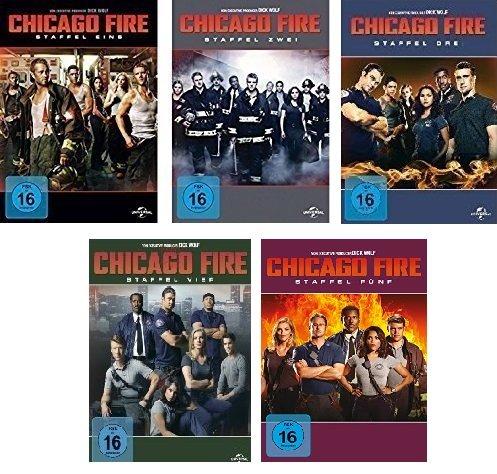 Produktbild Chicago Fire - Staffel Eins bis Fünf im Set - Deutsche Originalware [30 DVDs]