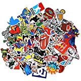 100PCS Stickers Decals Vinyls for Laptop Kids Cars Motorcycle Bicycle Skateboard Luggage Bumper Stickers Hippie Decals bomb W