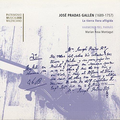 José Pradas Gallén: La tierra llora afligida