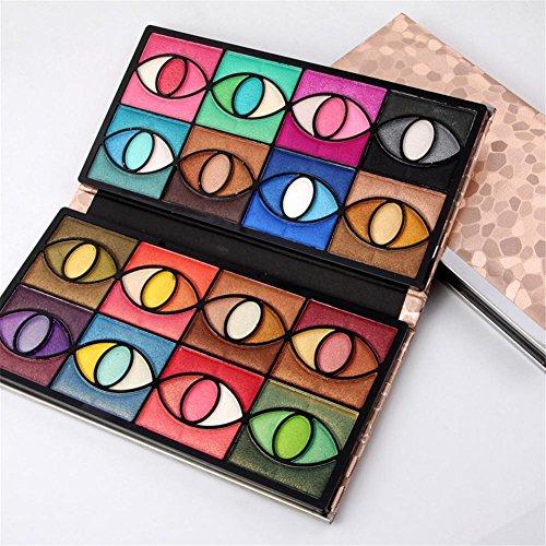 Mineral-make-up-kits (80 Farben Lidschatten-Palette für Frauen Natürliche Mineral Kosmetik Glitzer Professionelle Schimmer Augenschatten Make-up-Kit Set Perfekt für professionelle und tägliche Verwendung)