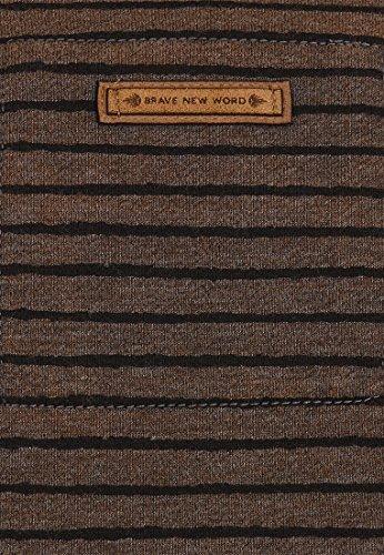 Naketano Male Sweatshirt Indifference Of Good Men III Heritage Anthracite Melange