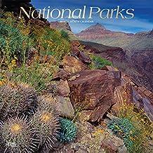 National Parks 2019 - 18-Monatskalender mit freier TravelDays-App: Original BrownTrout-Kalender
