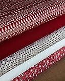 Weihnachten Stoff Fat Quarter Bundle 100% Baumwolle
