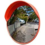 LADWA® Unbreakable 32 Inch/800mm Diameter Wide Angle Convex Mirror/Security Mirror/Traffic Mirror for Road Safety with Instal