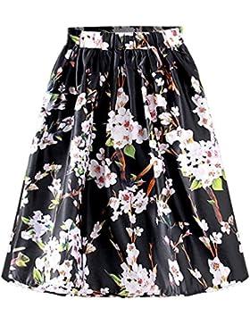 Moda Vestido | Vestido para mujer Las faldas de las mujeres | uropa y Estados Unidos moda viento cien vueltas...