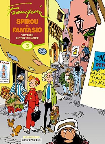 Spirou et Fantasio, l'intégrale tome 3 : Voyages autour du monde par André Franquin