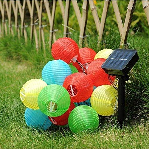 IREALIST 16.4ft 20 Lantern Ball ...