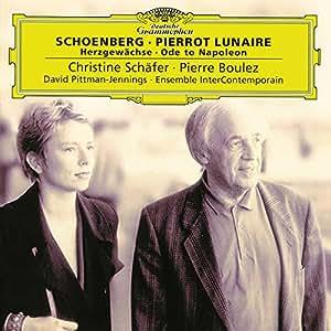 Schoenberg : Pierrot Lunaire