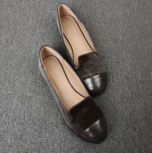 &qq Chaussures pour femmes en Angleterre, chaussures décontractées, chaussures de travail, chaussures plates 36