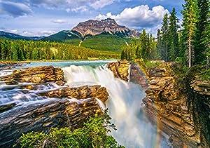 CASTORLAND Sunwapta Falls, Canada Puzzle - Rompecabezas (Canada, Puzzle Rompecabezas, Paisaje, Niños y Adultos, Niño/niña, 9 año(s), 470 mm)