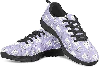 Chaqlin - Scarpe da ginnastica da donna, con cuscino d'aria, traspiranti, per jogging, fitness, palestra, scarpe da ginnastica casual