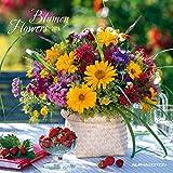 Blumen 2016 - Flowers - Broschürenkalender (30 x 60 geöffnet) - Wandplaner