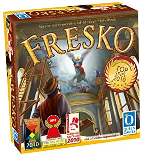 Queen Games 60591 - Fresko (B0037LRUMU) | Amazon price tracker / tracking, Amazon price history charts, Amazon price watches, Amazon price drop alerts