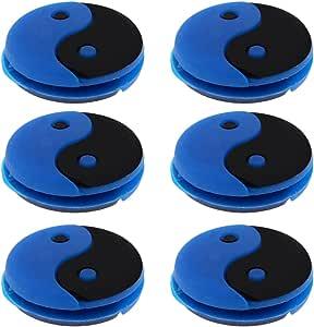 2 x Anti-Vibrateur pour Raquettes de Tennis Squash Amortisseur Vibrations