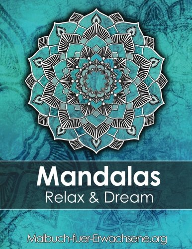 Mandala colouring book for adults: Meditation, Relaxation & Stress Relief: +BONUS 60 free Mandala colouring pages (PDF to print) por Coloring Books Art