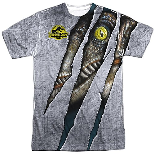 Jurassic Park Men's Official Raptor Sublimation T-shirt - S to 3XL