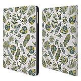 Offizielle Pom Graphic Design Gold Tropicana Muster 2 Brieftasche Handyhülle aus Leder für iPad Air (2013)