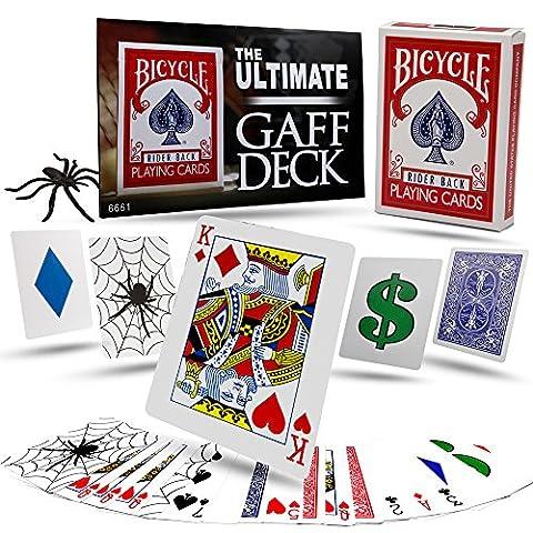Magic Tricks - The Ultimate Gaff Deck Kit - Trick