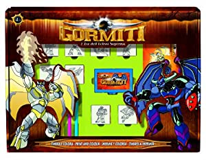 MULTIPRINT Gormiti - Juego de Sellos de Goma (12 Unidades)