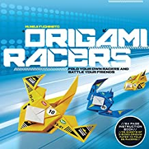 Origami racers kit : Fold your own racers and battle your friends
