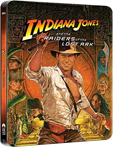 Indiana Jones - Raiders of the Lost Ark - Exklusive Limited Steelbook Edition (inkl. Deutscher Ton / auf 4000 Stk. geprägt) (Jä