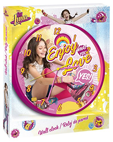 Uhr Wand Bin Luna Enjoy Love