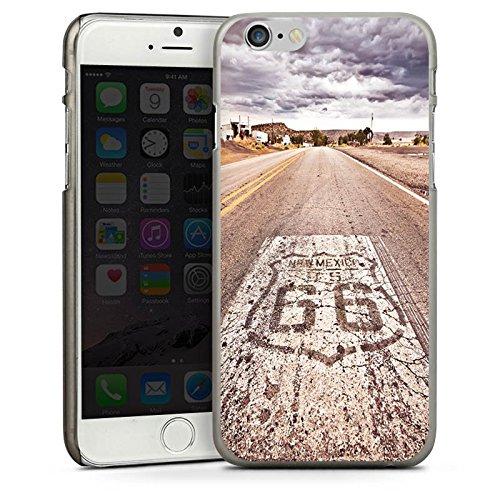 Apple iPhone 5s Housse étui coque protection USA Biker Rue CasDur anthracite clair
