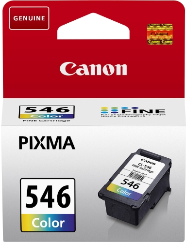 Canon CL-546 Original Tintenpatrone, 9ml mehrfarbig (Blister)