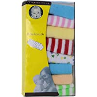 Kabello Soft Hand Towels Cotton Small Face Towel Washcloth for Kids and Small Baby Multicolored 35 Grams Pack of 1