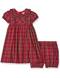 Rachel Riley Tartan Frill Dress & Bloomers, Vestido para Bebés