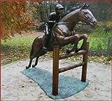 Jockey,Reiter auf Pferd