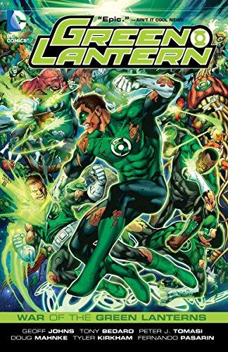 Green Lantern War Of The Green Lanterns TP