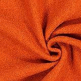 Fabulous Fabrics Walkloden - orange - Meterware ab 0,5m -