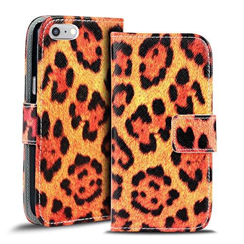 iPhone 6s Plus, 6 Plus Muster Hülle, Conie Mobile Handytasche Bookstyle Schutzhülle Motiv Bilderhülle Wallet Tasche, PU Leder Tasche Motiv 5