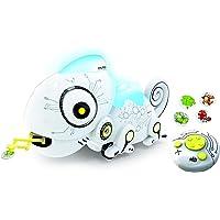 Ycoo by Silverlit - Jouet Robot Caméléon Radiocommandé + 4 Insectes En Métal - 28 cm - Attrape les Insectes Grâce à sa…