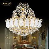 BBSLT Ha portato il ciondolo di lusso europeo elaborato lampadario di Cristallo Hotel Villa lampadario della Sala da Pranzo Circolare