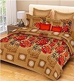 AS42 Cotton Printed King Bedsheet(1 Beds...