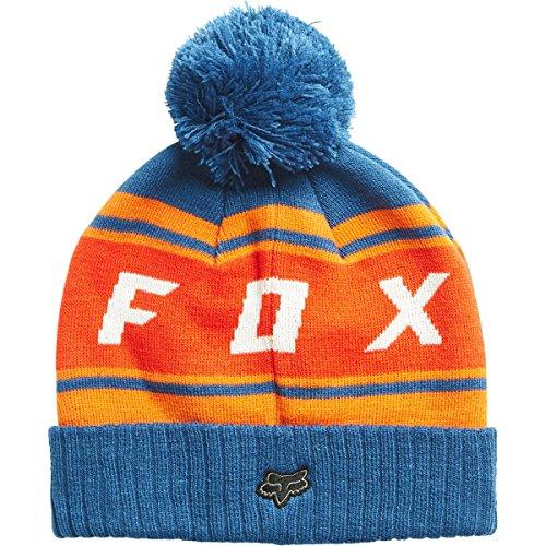 Fox Beanie Black Diamond Pom, Blue, Größe OS