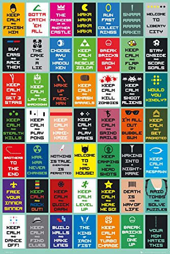 GB Eye LTD, Keep Calm, Gaming New, Maxi Poster, 61 x 91,5...