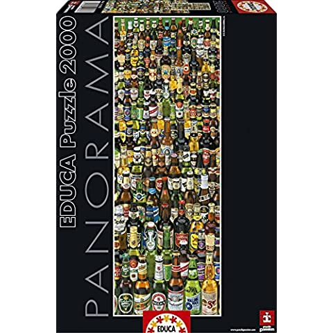 Puzzles Educa - Cervezas, puzzle de 2000 piezas (15544)