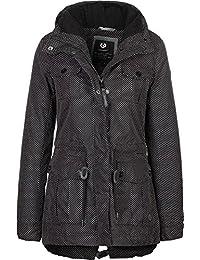 Ragwear Women Jackets/Winter Jacket Laika Minidots