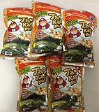 Tao Kae Noi japanischen Knusprige Algen, Tomyum Goong (0,7 X 5 Packs)