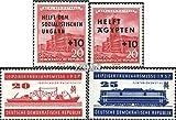 DDR 557,558,559-560 (kompl.Ausg.) 1956/57 Ungarn, Ägypten, Messe (Briefmarken für Sammler)