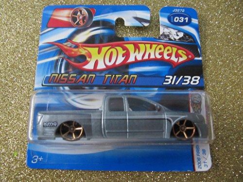 1to64-hot-wheels-2006-31-nissan-titan-5-speichen-gold-rader