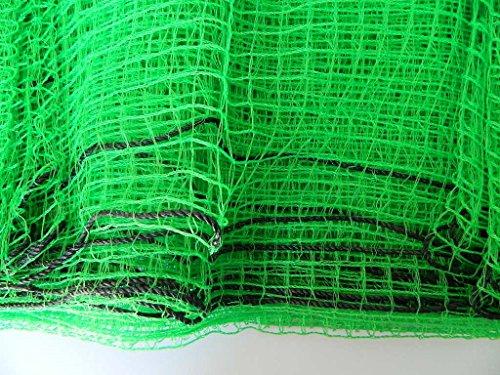 filet vert maille 1,7x1,7cm clôture protection jardin enclos animaux poules vert 8x1m