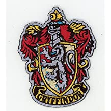 Harry Potter House of Gryffindor Crest Applique Embroidered Patch Iron On Parche Bordado Termoadhesivo by Titan One