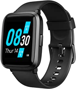 UMIDIGI Smartwatch Orologio Fitness, UFit Smart Watch Uomo Donna per Il Monitoraggio della Salute e dell'attività Fisica, con SpO2 e Monitoraggio del Battito Cardiaco Compatibile con Android iOS