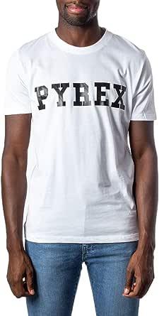 Pyrex Uomo Donna Unisex T-Shirt Jersey 34200 Regular XL Bianco