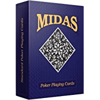 MIDAS Cardistry Cards Poker Playing Card- Pack of 1 Decks Multi Color